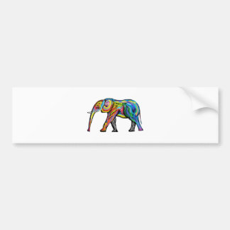 THE COLORS IMMACULATE BUMPER STICKER