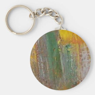 The Colors Of Fall Basic Round Button Keychain