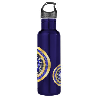 The Colors of New Years Water Bottle