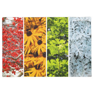The Colors of the Changing Seasons Doormat