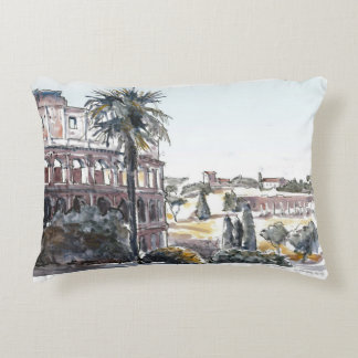 The Colosseum Accent Pillow