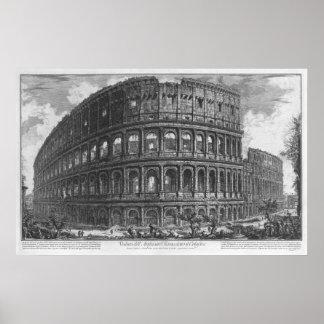 The Colosseum by Giovanni Battista Piranesi Poster