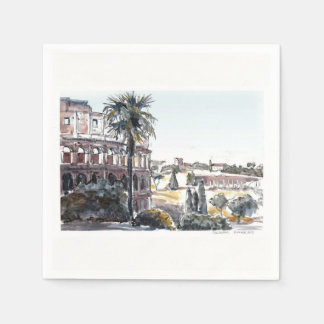 The Colosseum Disposable Napkin