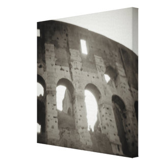 The colosseum in Rome, Italy Canvas Print