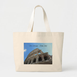 The Colosseum in Rome, Italy Large Tote Bag
