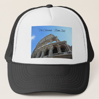 The Colosseum in Rome, Italy Trucker Hat