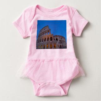 The Colosseum, originally the Flavian Amphitheater Baby Bodysuit