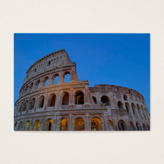 The Colosseum, originally the Flavian Amphitheater Business Card