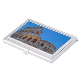 The Colosseum, originally the Flavian Amphitheater Business Card Holder
