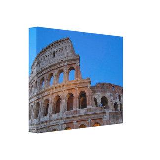 The Colosseum, originally the Flavian Amphitheater Canvas Print