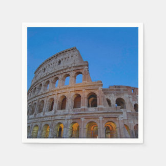 The Colosseum, originally the Flavian Amphitheater Disposable Napkin