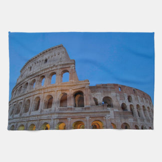The Colosseum, originally the Flavian Amphitheater Hand Towels