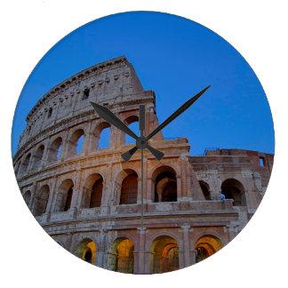 The Colosseum, originally the Flavian Amphitheater Large Clock