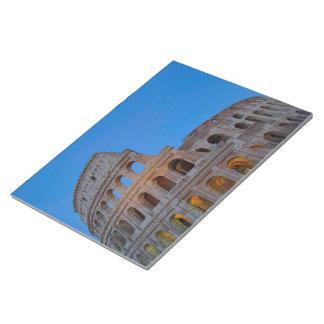 The Colosseum, originally the Flavian Amphitheater Notepad