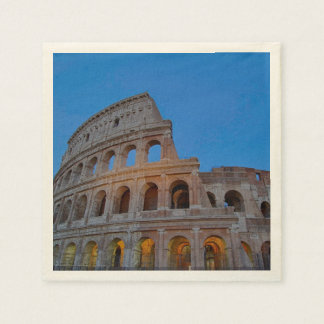 The Colosseum, originally the Flavian Amphitheater Paper Napkin