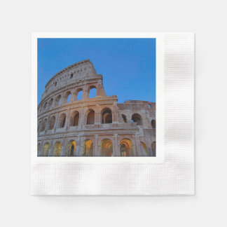 The Colosseum, originally the Flavian Amphitheater Paper Napkins