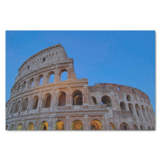 The Colosseum, originally the Flavian Amphitheater Tissue Paper