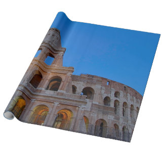 The Colosseum, originally the Flavian Amphitheater Wrapping Paper