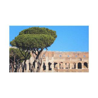The Colosseum - Rome Canvas Print