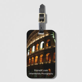The Colosseum, Rome Italy Luggage Tag