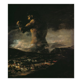 The Colossus, c.1808 Poster
