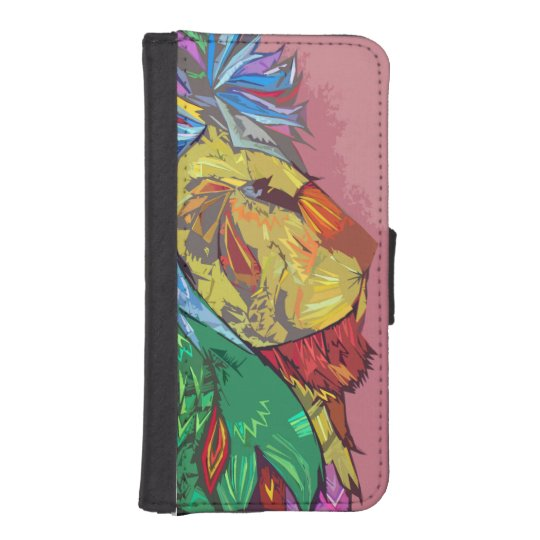 The Colour King phone wallet