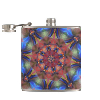 The Colour Of Your Dreams Hip Flask