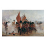 The Colours: advance of the Scots Guards Poster