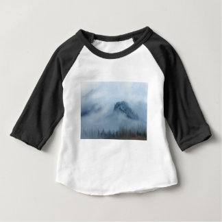 The Columbia Gorge In The Fog Baby T-Shirt