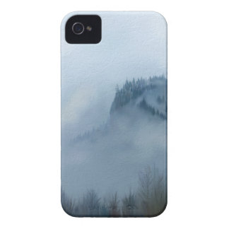The Columbia Gorge In The Fog iPhone 4 Cases