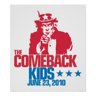 The Comeback Kids June 23, 2010 Poster