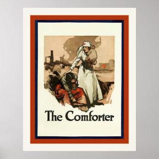 The Comforter ~ Vintage World War 1 Poster