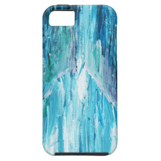 The Coming (religious abstract expressionism) iPhone 5 Cover