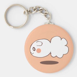 The commodity is customized basic round button keychain