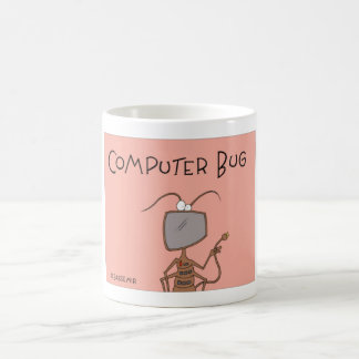 The computer bug coffee mug