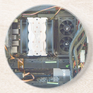 The computer equipment canvas coaster