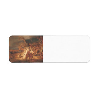 The Concert of the State by Rembrandt Return Address Label