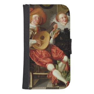 The Concert (oil on panel) Galaxy S4 Wallets