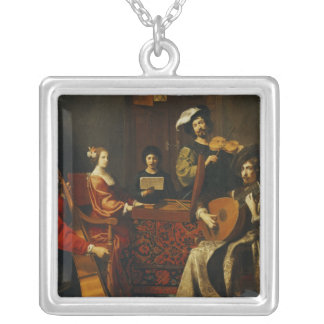 The Concert Silver Plated Necklace