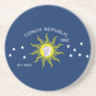 The Conch Republic Flag Coaster