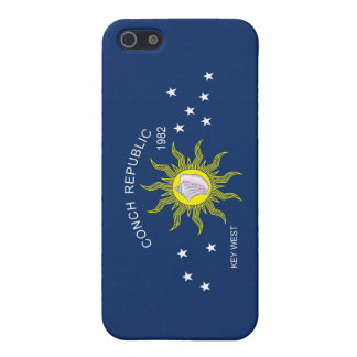 The Conch Republic Flag Cover For iPhone 5/5S