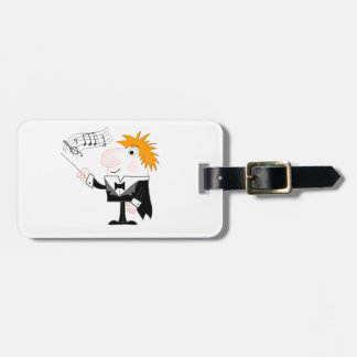 The Conductor Luggage Tag