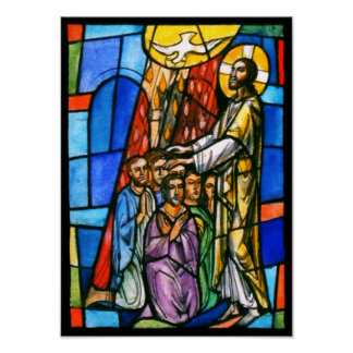 The Confirmation: Jesus/Religion Art Poster