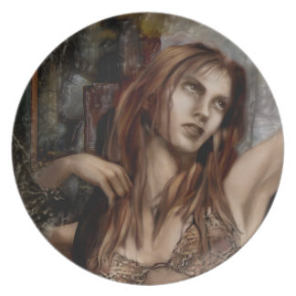 «The Confrontation Detail» Art Plate
