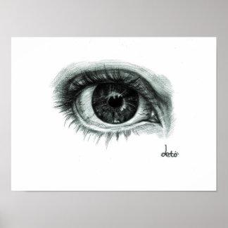 The conscious musician's eye poster