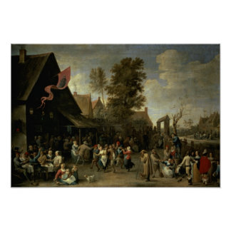The Consecration of a Village Church, c.1650 Poster