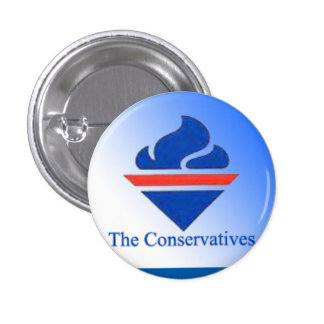 The Conservatives Old Logo 1 Inch Round Button