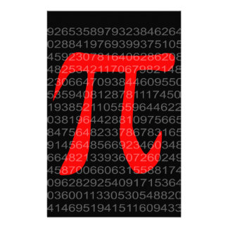The Constant Pi Stationery