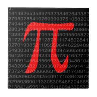 The Constant Pi Tile