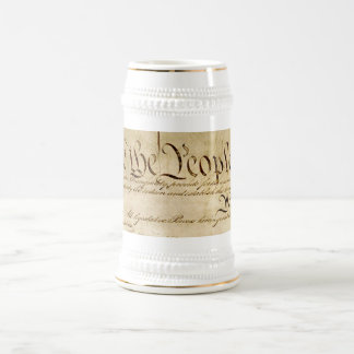 The Constitution Beer Stein